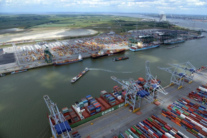 Port of Antwerp freight volume up 3.3% after 9 months