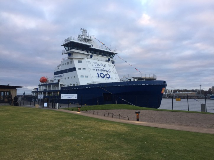 Finland's newest next-generation icebreaker Polaris ready for action