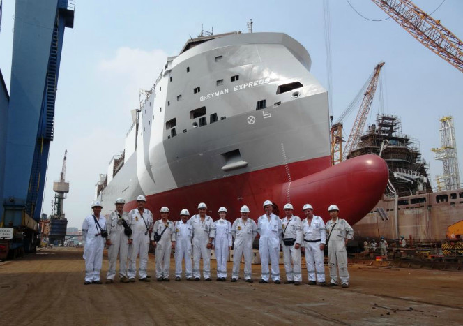 Next-Generation Livestock Carrier Greyman Express Launched