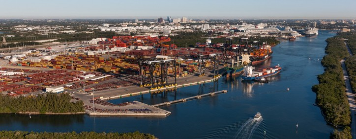 Port Everglades Sets Record for Containerized Cargo Volumes in FY2017