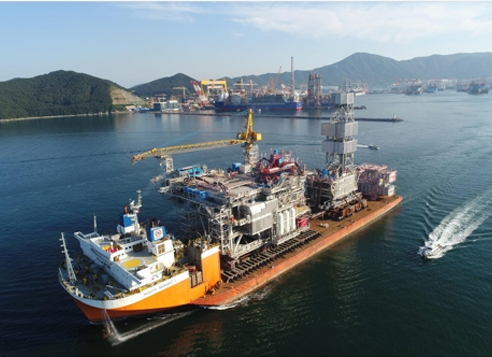 Daewoo Shipbuilding delivers US$2.7 bln offshore facility