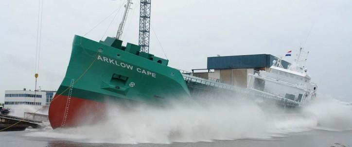Ferus Smit Nb. 425 'Arklow Cape' successfully launched