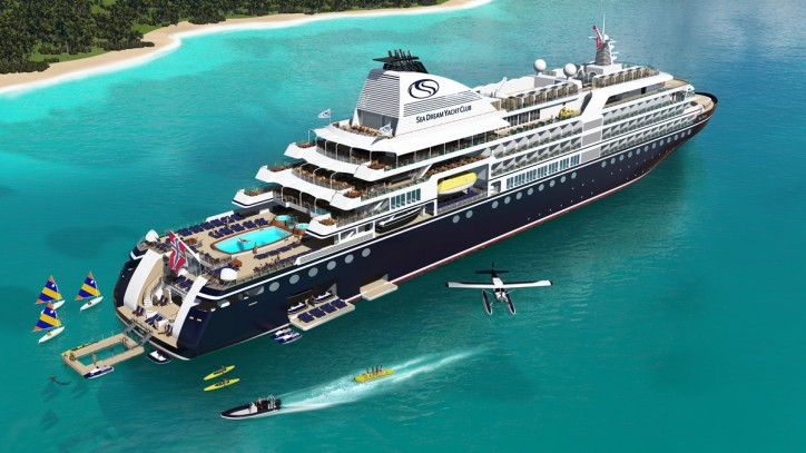 Damen Cruise inks first contract with SeaDream Yacht Club