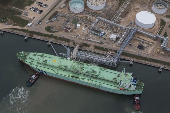 BW LPG's Very Large Gas Carrier BW Broker loads first commissioning cargo from new P66 Terminal
