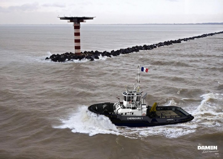 Port of Caen/Chamber of Commerce & Industry Caen Normandy orders Damen ASD Tug 2810
