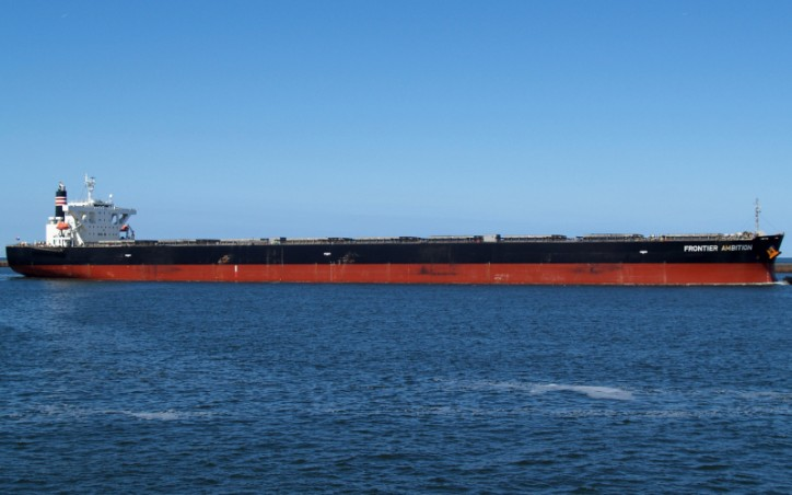 NYK's Bulk Carrier Frontier Ambition Rescues Yachtsman in the Strait of Magellan