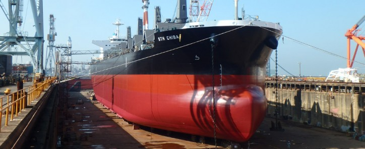 MES Delivers 60 000-dwt bulk carrier STH Chiba to Sea Trade Holdings Inc