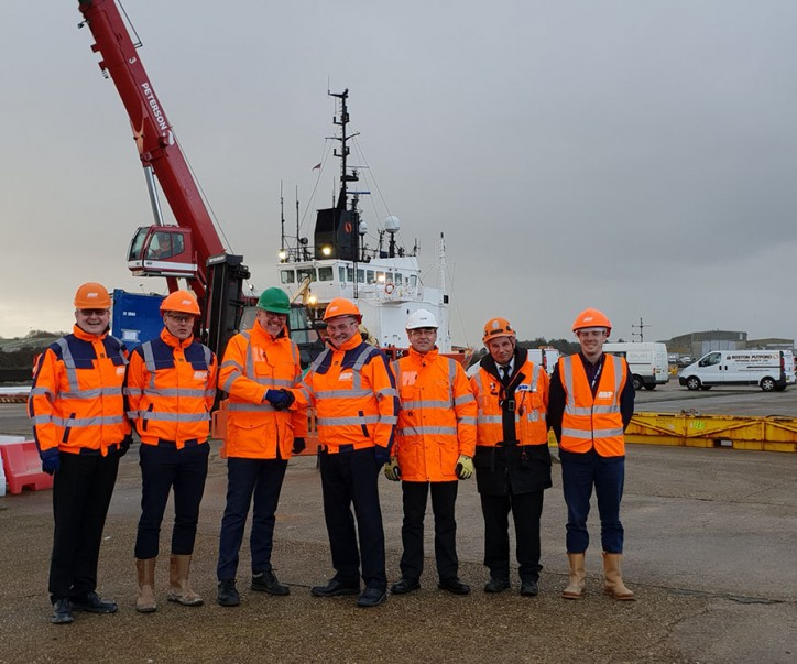 ABP welcomes Peterson UK Ltd to the Port of Lowestoft