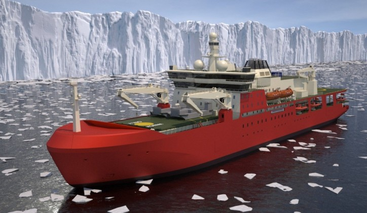 Australian Icebreaker operated by DMS Maritime to be constructed by Damen (Video)