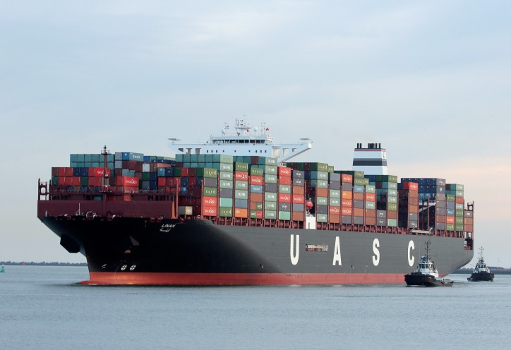 UASC and Gulftainer mark 15,000 TEU green vessel maiden call to Khorfakkan Port