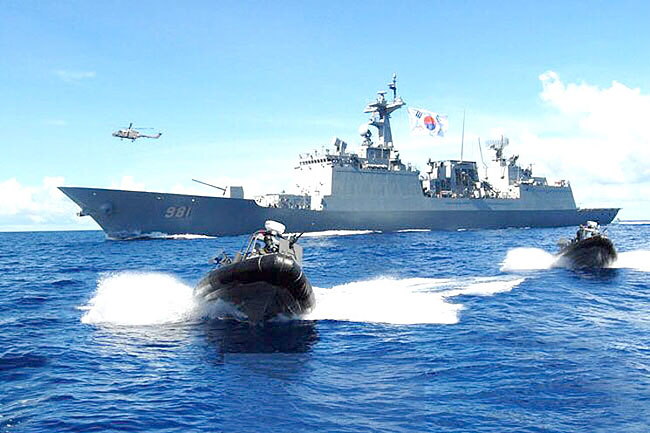 South Korean special forces join regional anti-piracy exercise