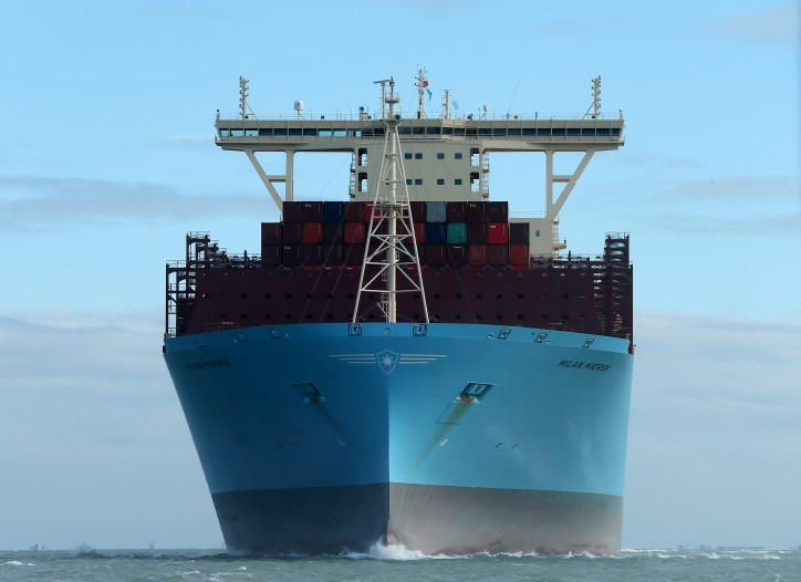Spotted: ABP Southampton welcomes the largest container ship ever to visit the port
