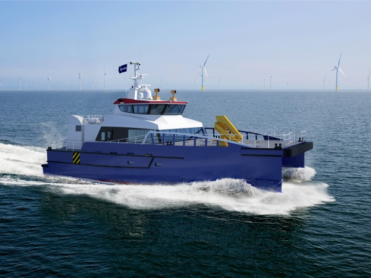 Twin Damen Fast Crew Suppliers 2710 ordered by Hung Hua Construction Co. Ltd. of Taiwan