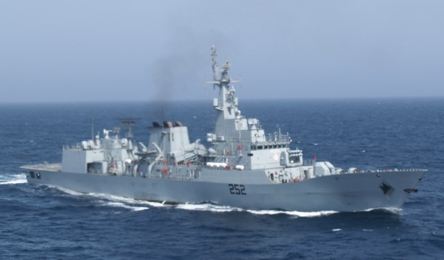 China and Pakistan Conclude Naval Exercise in East China Sea