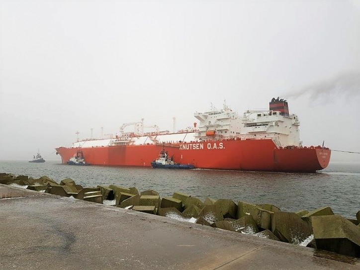 50th delivery of LNG to the terminal in Świnoujście