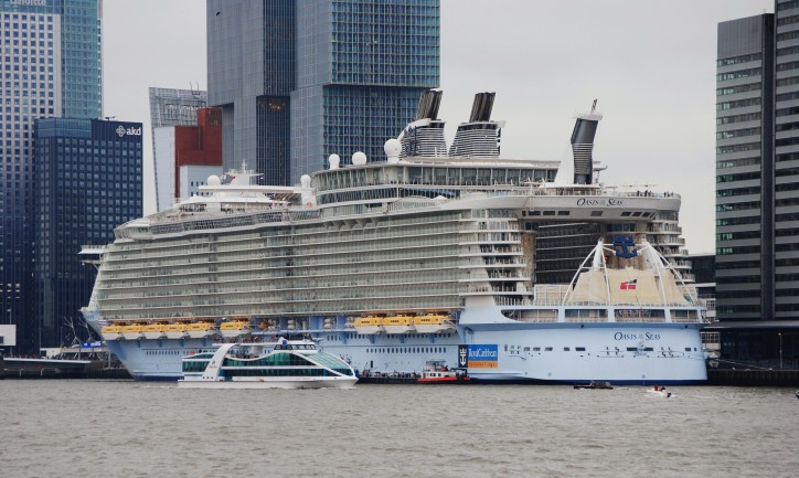 Royal Caribbean fined, Oasis of the Seas