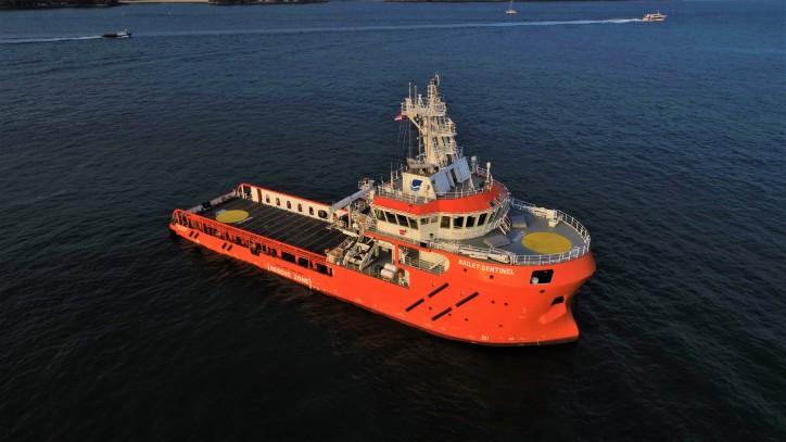 ERRV Bailey Sentinel joins Sentinel Marine Fleet