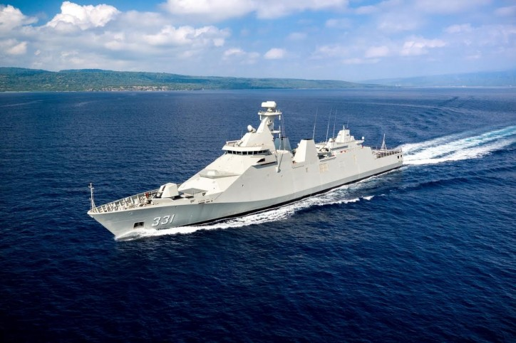 First SIGMA 10514 PKR frigate for Indonesian Navy completes sea trials (Video)