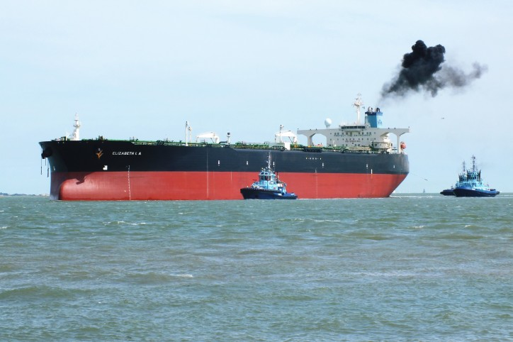 Supertankers line up at Kuwait oil port after strike ends