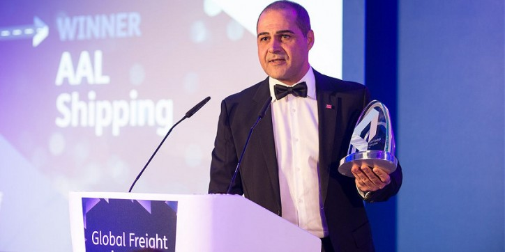 AAL Wins Global 'Breakbulk Operator Of The Year 2016'