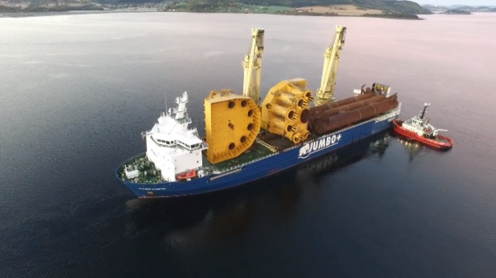 Major structures for Johan Sverdrup arrive at Verdal
