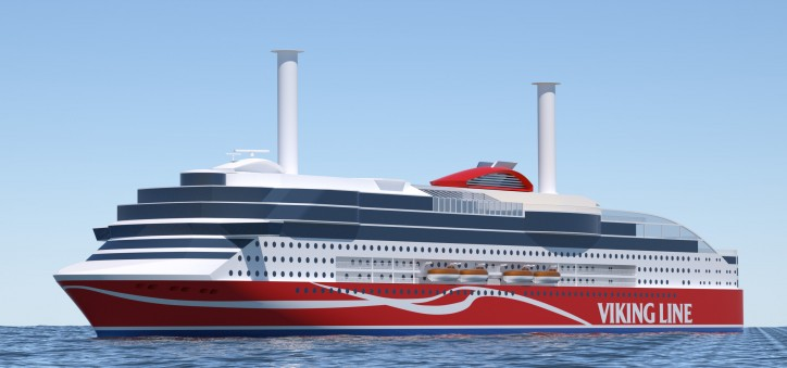 Wärtsilä will deliver high efficiency and low emissions for new Viking Line ferry