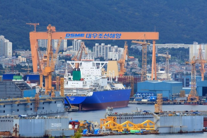 LNG Carriers Set to Exceed 50% of DSME's Sales