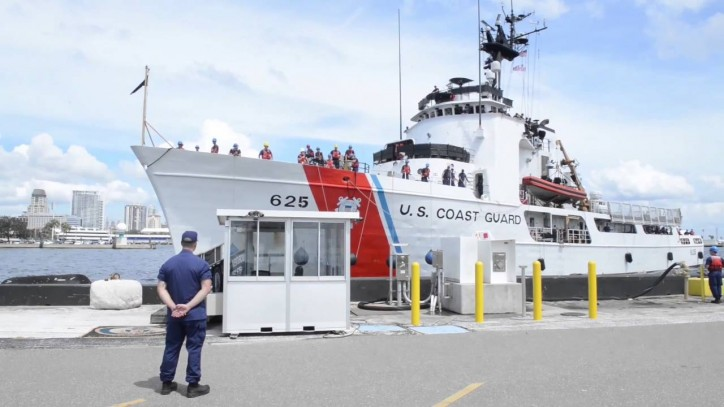 USCGC Venturous returns from 8-week patrol in the Eastern Pacific Ocean