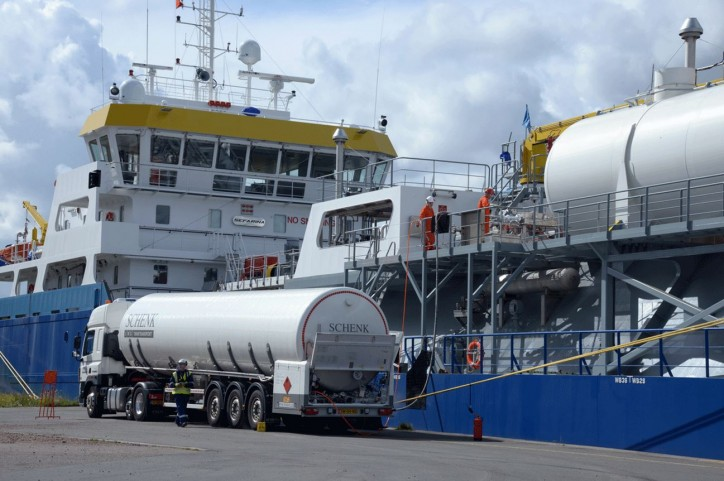 Energy transition in the port of Antwerp: new impetus for LNG as an alternative fuel for ships