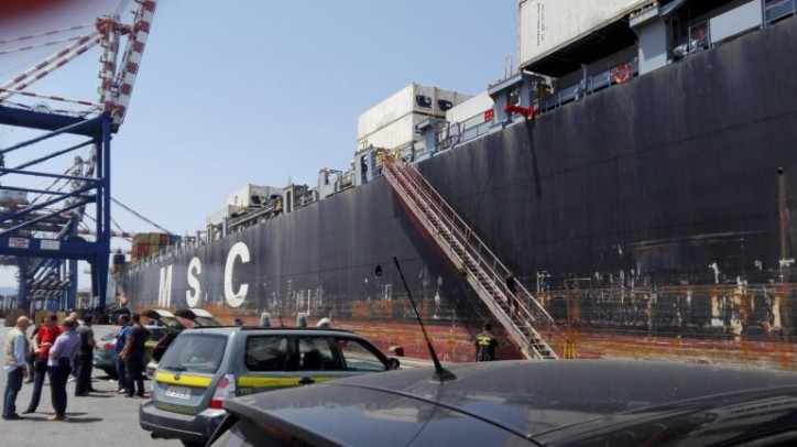 Vessel's master involved in cocaine smuggling