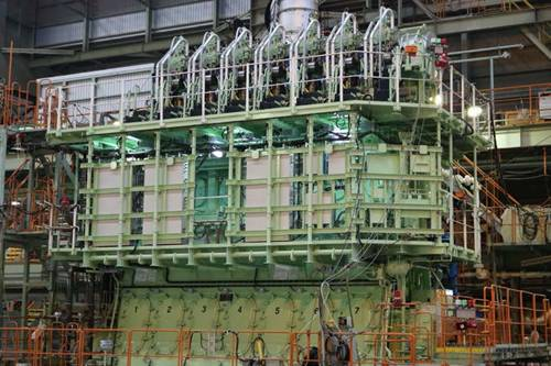 World's First Two-Stroke, Low-Speed Ethane Engine Completed