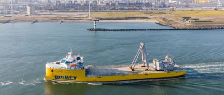 BigLift Barentsz Sails Northern Sea Route For Pioneering Spirit