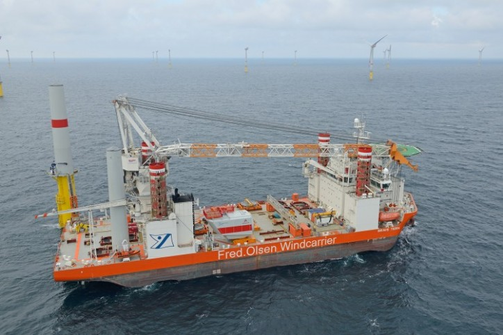 Fred. Olsen Windcarrier and Falcon Global Announce Cooperation Agreement in Offshore Wind