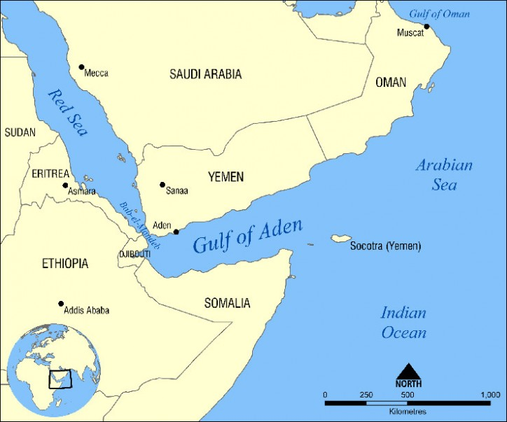 UN Aid Ship under fire near Aden port