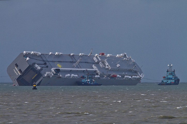 Ship Accident Hoegh Osaka