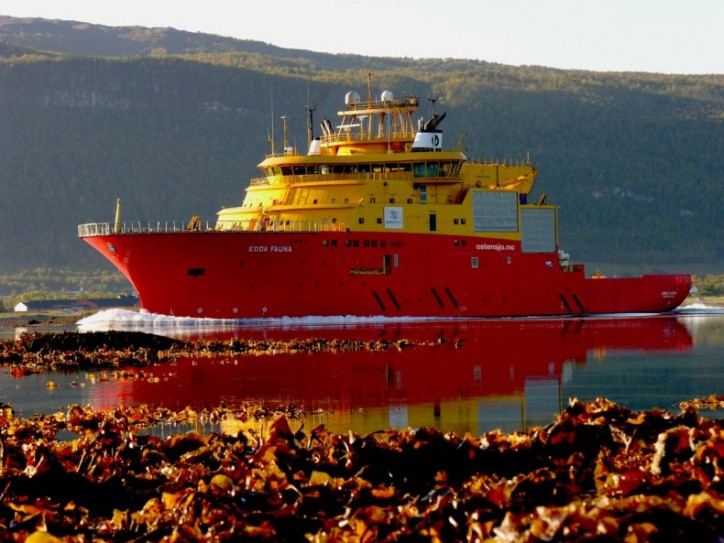 "Østensjø Rederi announces a ""365"" contract with Deep Ocean for Edda Fauna"