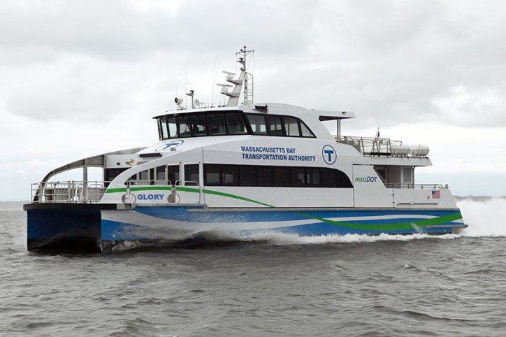 Second MBTA Ferry Proves Incat Crowther's Mass Transit Credentials