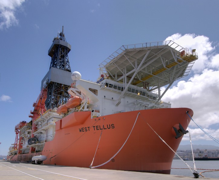 Seadrill Announces contract extension for drillship West Tellus
