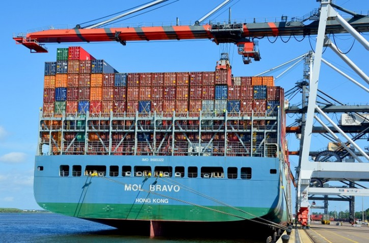 JAXPORT welcomes the largest container ship to ever call a Florida port