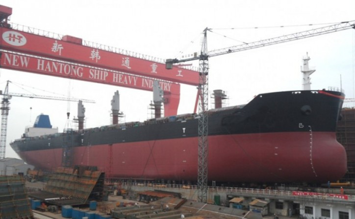 Cardiff Marine Orders 4 Aframax tankers from China's Hantong shipyard