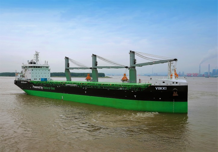 ESL Shipping and Nauticor sign long-term LNG supply contract for the world's first bulk carriers Haaga and Viikki running on the alternative fuel