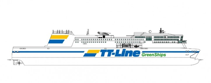 OSK behind the concept for TT-Line's new Green Ship