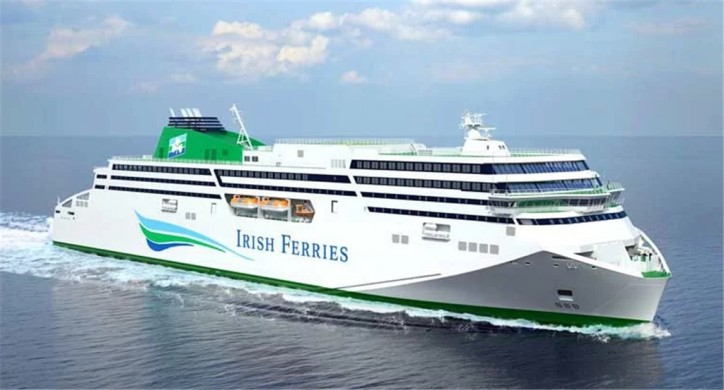 Irish Ferries chooses 'W. B. Yeats' as name for New Cruise Ferry