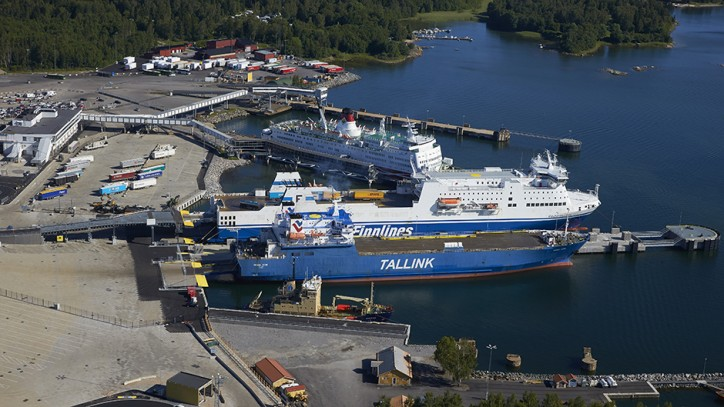 Significant rise in freight volumes at Ports of Stockholm