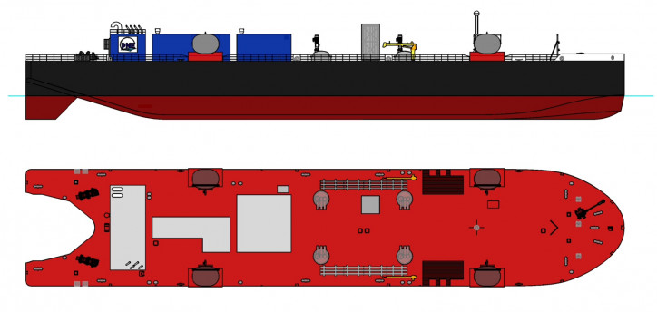 NorthStar Midstream to Form LNG Marine Transportation Company – Fincantieri Bay Shipbuilding to build 5,400 cubic meter LNG barge for East Coast route