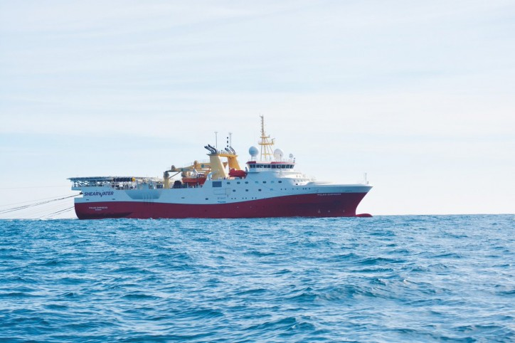 Shearwater GeoServices awarded projects equivalent to 8 vessel months in the Arabian Sea