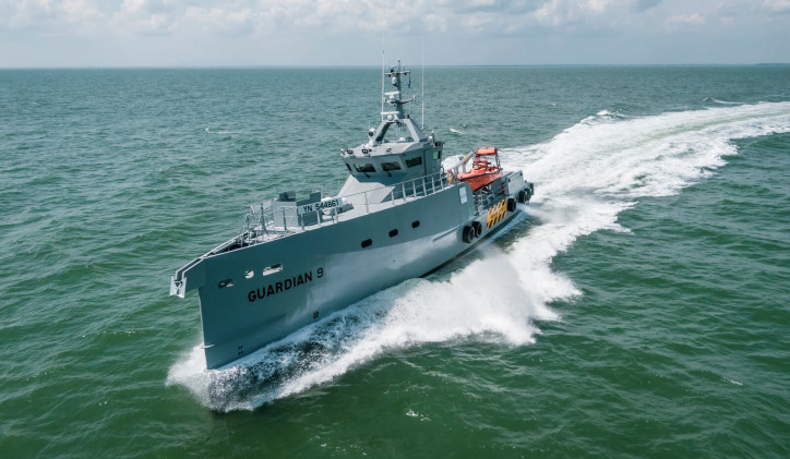 Two more Damen FCS 3307 Patrol vessels delivered to Homeland Integrated Offshore Services Limited of Nigeria