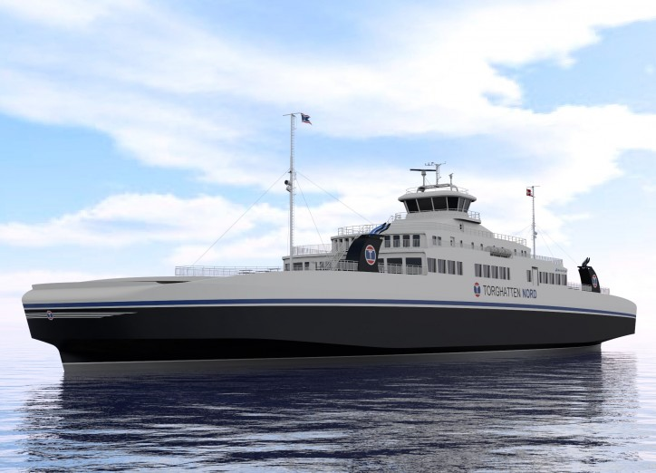 "Three more LNG ferries of Multi Maritime's design ""MM125FD LNG"" to be built by Tersan Shipyard"