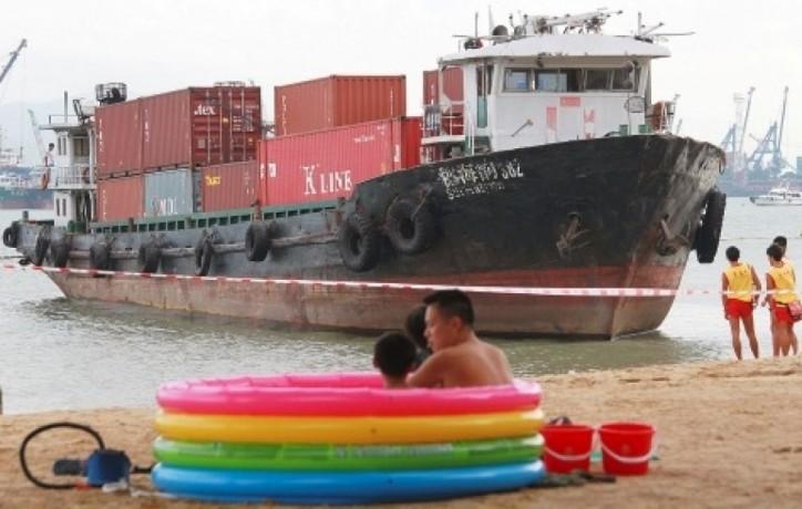 Sui Hai Yun 382 MMSI 413900399 aground