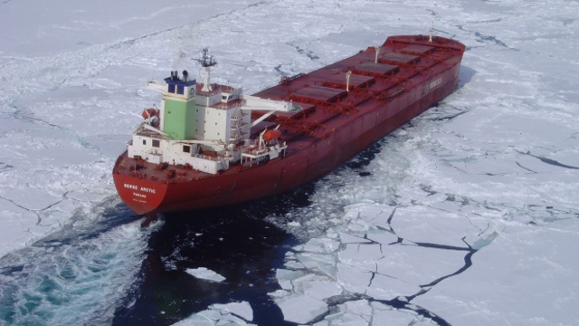 Arctic shipping passage 'still decades away'